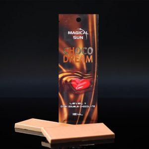 Saszetka kosmetyku do opalania w solarium CHOCO DREAM o pojemności 12ml