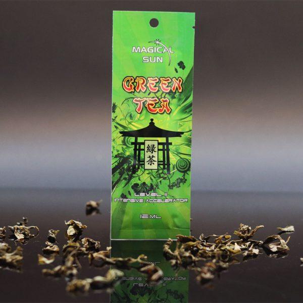 Saszetka kosmetyku do opalania w solarium GREEN TEA o pojemności 12ml