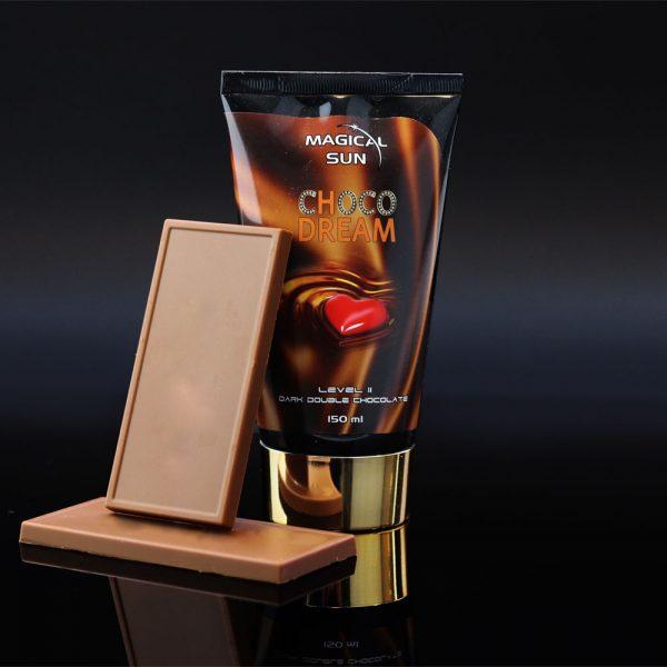 Tubka kosmetyku do opalania w solarium CHOCO DREAM o pojemności 150ml