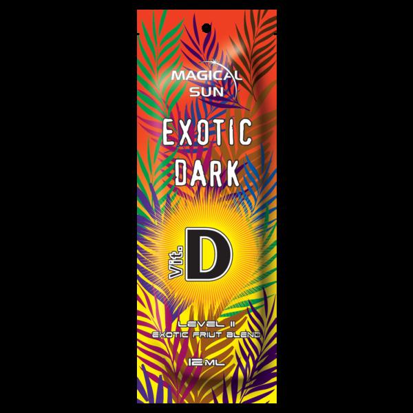 Saszetka kosmetyku do opalania w solarium Exotic Dark o pojemności 12ml
