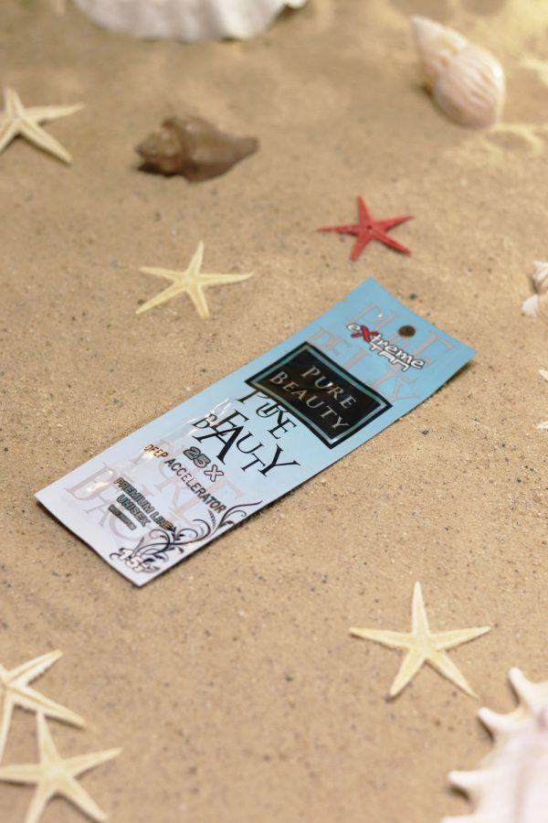 Saszetka kosmetyku przed opalaniem marki Extreme Tan, produkt Pure Beauty 12ml