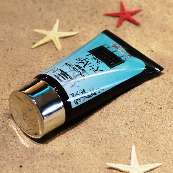 Tubka kosmetyku przed opalaniem marki Extreme Tan, produkt Pure Beauty 150ml