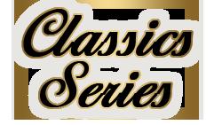 Logotyp Classic Series kosmetyków poprawiających poziom opalenizny na solarium