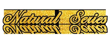 Logotyp Natural Series - linii kosmetyków wolnych od chemi