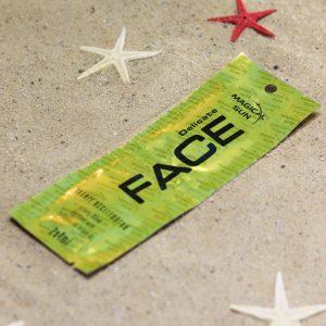 Saszetka kosmetyku do opalania na solarium marki Magical Sun, lnii Expert Line - Delicate Face 2x4ml