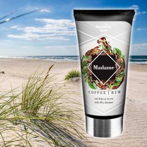 Tubka kosmetyku przed opalaniem na solarium marki Magical Sun, seria Be You - Madame